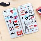 韓國 旅行便利貼 透明軟殼 手機殼│S6 Edge Plus S7 S8 S9 Note4 Note5 Note8 Note9│z7363