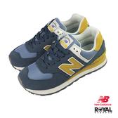 New balance 574 灰藍色 麂皮 運動休閒鞋 女款 NO.J0022【新竹皇家 WL574LDD】