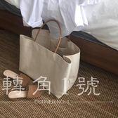 手提包 大容量素色帆布大包(stb-4)【轉角1號】