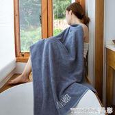 浴巾純棉成人柔軟超強吸水毛巾男女士速乾個性感全棉大號情侶浴巾 晶彩生活