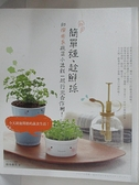 【書寶二手書T5/園藝_I1C】簡單種,趁鮮採:和療愈系蔬菜小盆栽一起行光合作用!_鈴木朝美