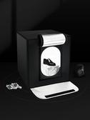 LED小型攝影棚套裝60cm靜物拍攝白底圖大號折疊柔光補光燈便攜迷你 蜜拉貝爾
