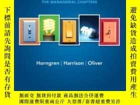 二手書博民逛書店Accounting罕見Chapters 14-24 (managerial Chapters) (9th Edi