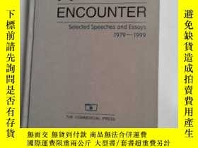 二手書博民逛書店RENEWED罕見ENCOUNTER Selected Spee