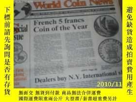 二手書博民逛書店World罕見Coin News(Vol.18,No.18)(S