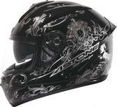 【東門城】ASTONE GTB II37 (黑銀) 全罩式安全帽 雙鏡片