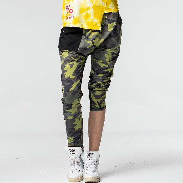 街頭造型嘻哈褲TAQ10907 (版型偏大 / 商品不含配件)- 百貨專櫃品牌 TOUCH AERO 瑜珈服有氧服韻律服