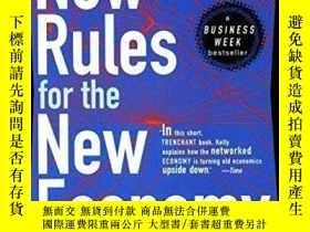 二手書博民逛書店New罕見Rules For The New Economy-新經濟新規則Y436638 Kevin Kell