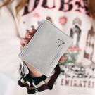 新款短款錢包女韓版學生小清新迷你可愛拉錬個性簡約錢夾 扣子小鋪