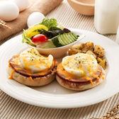 班尼迪克早午餐套餐(附60元飲品)