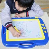 彩色磁性畫畫板兒童繪畫板寶寶寫字板玩具涂鴉板黑板手寫板 完美情人精品館