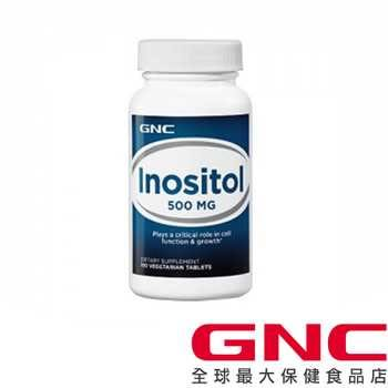 【GNC健安喜】肌醇500食品錠 100錠