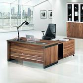 龍騰鐵力士L型主管桌/辦公桌/書桌