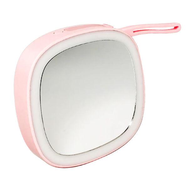 美妝鏡 化妝鏡 美容鏡 便攜式補光鏡 充電式LED化妝鏡【AD0048】鏡子 網美 亮度可調