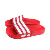 adidas 拖鞋 運動型 紅/白 女鞋 FY7815 no949