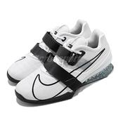 Nike 訓練鞋 Romaleos 4 白 黑 男鞋 健身房 舉重鞋 重量 有氧 專業鞋款 運動鞋 【ACS】 CD3463-101