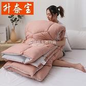 升奈寶被子冬被雙人2米加厚保暖棉被褥2.2米被芯單人學生宿舍1.5m NMS設計師生活百貨