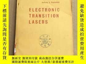 二手書博民逛書店electronic罕見transition lasers(P3296)Y173412