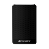 Transcend創見 2TB StoreJet 25A3 2.5吋 USB 3.1行動硬碟-經典黑【愛買】
