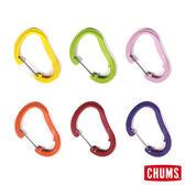CHUMS 日本 彩色D型環 鑰匙圈中 (隨機出色) CH610119