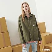 STAYREAL 工裝寬版大口袋外套