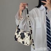 腋下包奶牛腋下法棍女包手提小包2020韓版新款百搭法國小眾側背斜背小包 coco衣巷