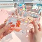 小錢包 零錢包女小錢包迷你可愛韓國鑰匙收納包學生裝硬幣袋手拿硬幣卡包 夢藝家