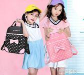 兒童拉桿書包女孩小學生1-3-6年級兩用拆卸雙肩包6-12周歲減負透YXS『小宅妮時尚』