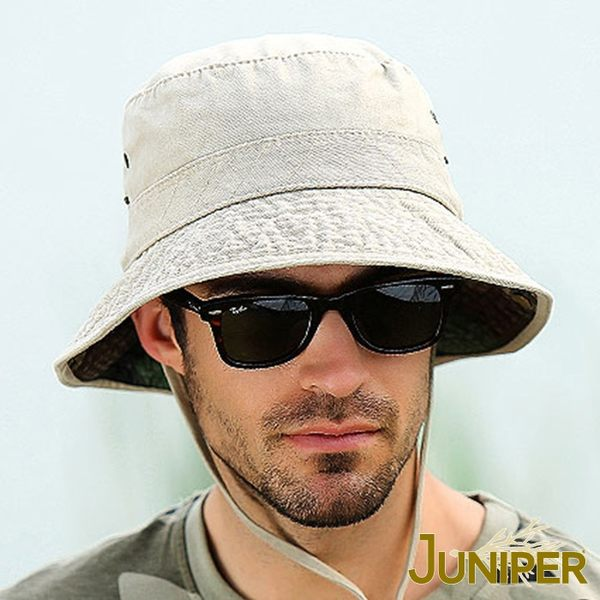 抗UV防潑水漁夫遮陽親子帽