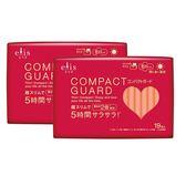 日本大王elis愛麗思 COMPACT GUARD GO可愛日用超薄25cm(19片/包)x2包組