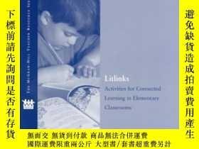 二手書博民逛書店Litlinks:罕見Activities For Connected Learning In Elementar