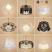 餐廳吊燈三頭創意個性工業風吊燈具