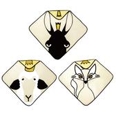 挪威 Babylivia 有機棉連帽浴巾 (三款可選)