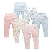 嬰兒褲子女寶寶純棉打底褲男嬰幼兒可開檔褲新生兒03月長褲春夏款 森活雜貨
