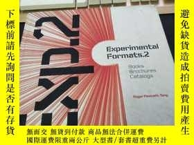 二手書博民逛書店experimental罕見formats.2 : Books