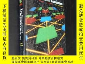 二手書博民逛書店THE罕見MANAGEMENT OF BUSINESS LOGI