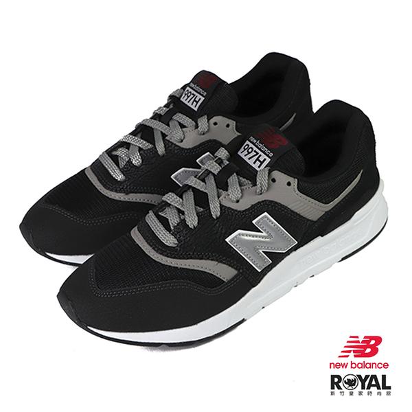 New balance 997H 黑色 皮質 運動休閒鞋 男女款 NO.B1536【新竹皇家 CM997HFN】