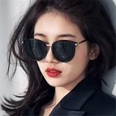 太陽眼鏡 GM墨鏡女2020新款防紫外線韓版潮網紅太陽鏡ins街拍眼睛圓臉女士【快速出貨】