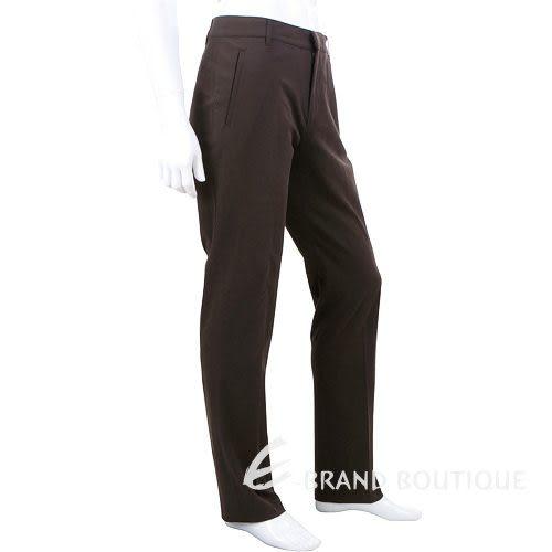 MOSCHINO 素色休閒長褲(深咖啡色) 0580001-07