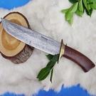 郭常喜與興達刀具--郭常喜限量手工刀品-大獵刀(A0037)精美護手,後有繩孔
