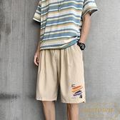 短褲男夏季潮流薄款韓版寬鬆休閒外穿五分褲【繁星小鎮】