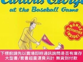 二手書博民逛書店Curious罕見George at the Baseball Game 好奇猴喬治打棒球Y454646 Ma