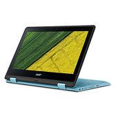 Acer Spin 1系列 SP111-31-C1EJ 可翻轉11.6吋筆電(藍)【Intel Celeron N3450 / 4GB記憶體 / 500GB硬碟 / Win 10】