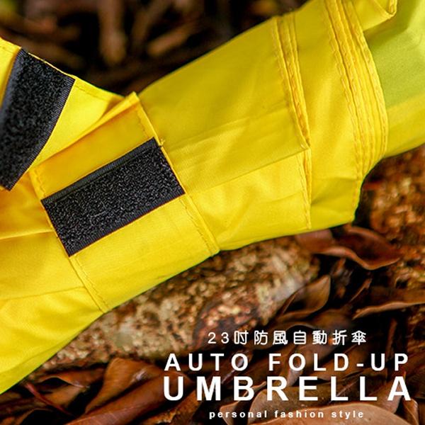 【買一送一】23吋防風剛剛好自動傘(鮮豔款) / 八骨 防風 Upon雨傘 (可選色搭配)
