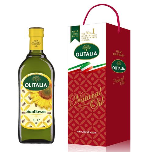 【奇奇文具】奧利塔Olitalia 頂級葵花油 (1000ml)