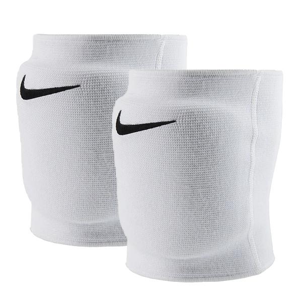 Nike Essential Keen Pads [NVP06100ML] 排球 護膝 加強護墊 吸震 緩衝 透氣 白