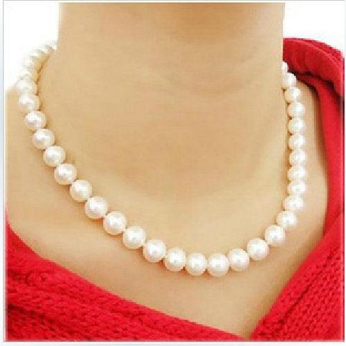 TwinS熱賣DIY串珠仿珍珠項鍊鎖骨鍊【銷售爆款】贈品禮品拍照