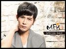 MFH韓國男生髮片◆斜瀏海局部髮片(包覆...