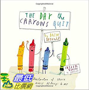 [106美國直購] 2017美國暢銷書 The Day the Crayons Quit