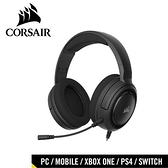 CORSAIR 海盜船 HS35 STEREO 立體聲電競耳機 碳纖黑【77折▼省300】